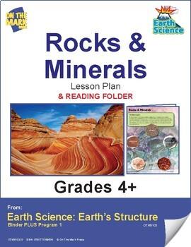 Rocks & Minerals Lesson & Reading Folder
