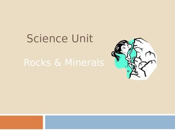 Rocks & Minerals Science Journals - Power Point