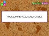 Rocks Minerals Soil Fossils