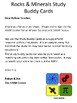 Rocks & Minerals Study Buddy Vocabulary Cards