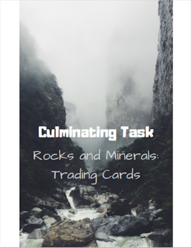 Rocks & Minerals: Trading Card Assessment