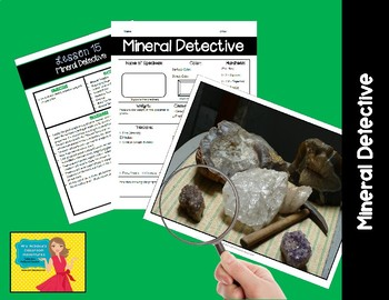 Rocks & Minerals Unit (5E Lessons)