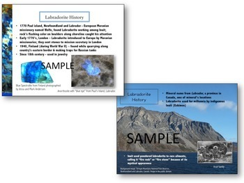 Rocks & Minerals Unit Study: Labradorite, Aurora Borealis Trapped in Stone