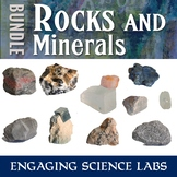 Rocks and Minerals and Crystals Unit: A Bundle of Science Labs