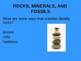 Rocks, Minerals, and Fossils Review