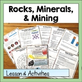 Rocks, Minerals, and Mining Lessons and Activities