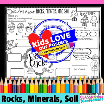 Rocks, Minerals, and Soil Activity Poster