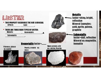 Rocks, Minerals, and Soil PowerPoint with Student Interactive Notes
