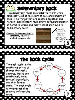 Rocks Mini Book