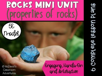 Rocks Mini Unit (5E Lessons)