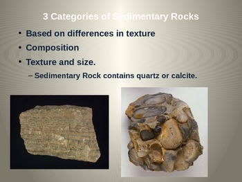 Rocks Power point  - Minerals and Soil