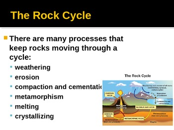 Rocks PowerPoint - Types of Rocks and Rock Formation