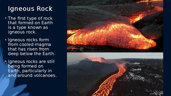 Rocks Presentation (Geology) - Grades 7-9