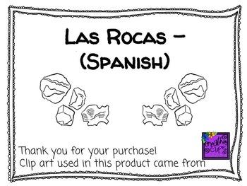 Rocks - Rocas (Spanish)