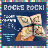 Rocks Rock! Cootie Catcher