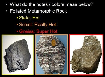 Rocks and the Rock Cycle Lesson