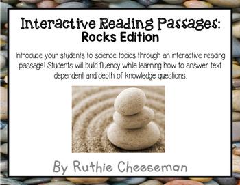 Rocks! Rocks Rocks! Interactive Reading Passages