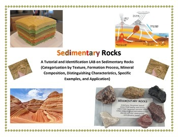 Rocks:  SEDIMENTARY Rock IDENTIFICATION LAB (No Samples Needed)