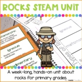 Rocks STEAM Unit | Science Stations for Primary Grades