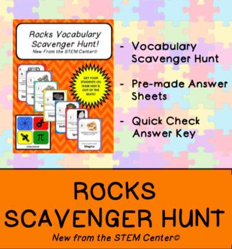Rocks Scavenger Hunt Game
