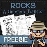 Rocks Science Journal FREE Sample- Pebbles, Sand & Silt FOSS Companion