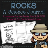 Rocks Science Journal- Pebbles, Sand & Silt FOSS Companion