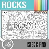 Rocks Seek and Find Science Doodle Page