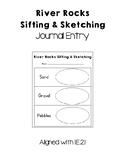 Rocks Sifting & Sketching Journal Entry