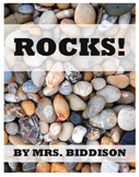 Rocks | Emergent Science Reader | Sight Word Reader | Science & Reading Fun
