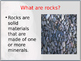 Rocks & Soil PPT Editable