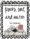 Rocks, Soil, and Water Unit Resources