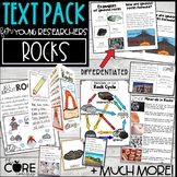 Rocks Text Pack: Differentiated printable texts for classr