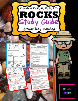 Rocks Unit Study Guide