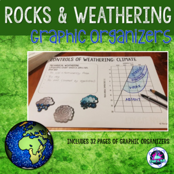 Rocks & Weathering Graphic Organizers