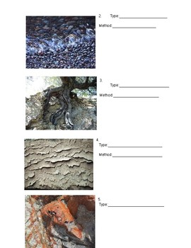 Rocks and Erosion Test