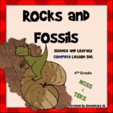 Rocks and Fossils Complete Lesson Set Bundle 4th Grade (NGSS)