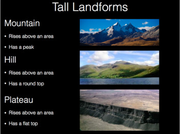 Rocks and Landforms, A Study of Geology (Powerpoint & Student Notebook)