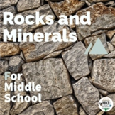 Rocks and Mineral Introduction: Lesson 1 for Middle School