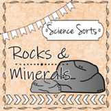 Rocks and Mineral Sort