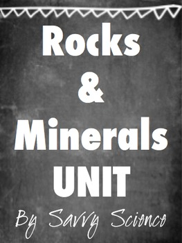 Rocks and Mineral UNIT
