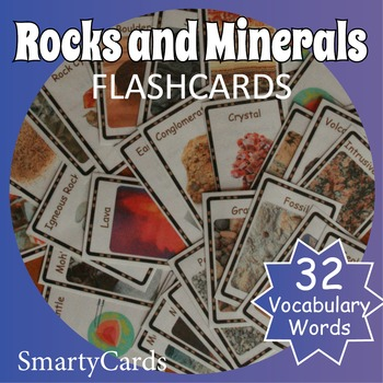 Rocks and Minerals Flashcards
