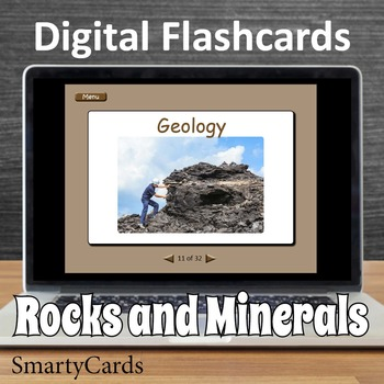 Interactive Rocks and Minerals Flashcards