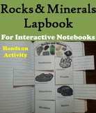 Types of Rocks and Minerals Interactive Notebook Activity (Geology Unit)