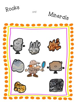 Crossword Puzzle - Rocks and Minerals