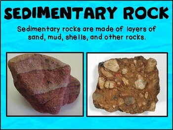 Rocks and Minerals : Sedimentary, Igneous, Metamorphic.  Make your own rocks.