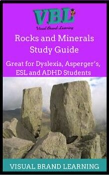Rocks and Minerals  Homeschool, printable, study guide