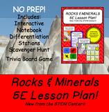 Rocks and Minerals 5 E Lesson Plan