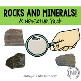 Rocks and Minerals! A Nonfiction Pack