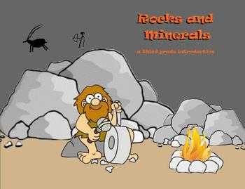 Rocks and Minerals - A Third Grade Smartboard Introduction