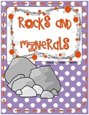 Rocks and Minerals Activities - Extended Standards